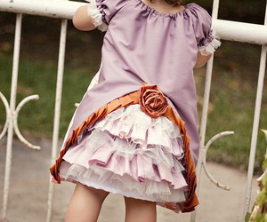 child, cute, and dress image