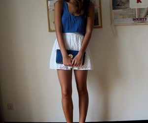 bag, skirt, and sweet image