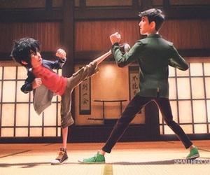 big hero 6, hiro hamada, and tadashi hamada image
