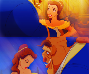 amo, beauty and the beast, and disney image