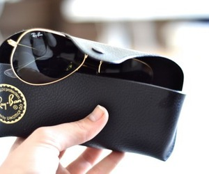 ray ban, sunglasses, and classy image