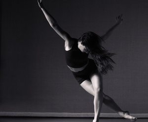 black and white, contemporary dance, and dance image