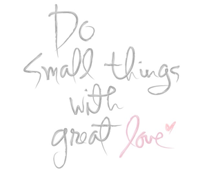 love, quotes, and small image