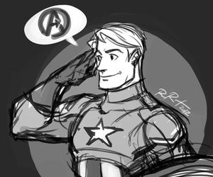 Avengers, fan art, and film image