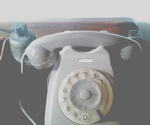 grey, home, and telephone image
