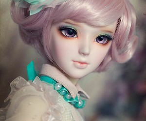 beauty, dolls, and kids image