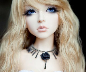 doll, cute, and bjd image