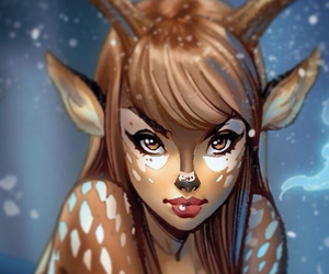artist, draw, and bambi image