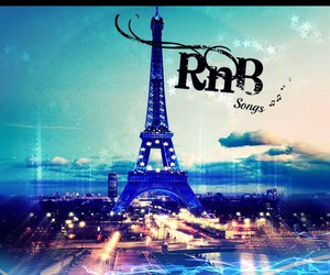 eiffel tower, music, and magic image