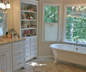 bath, classic, and decor image