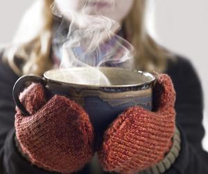 tea, autumn, and cold image
