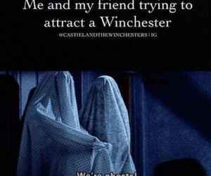 supernatural, funny, and ghost image