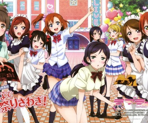 anime and love live image