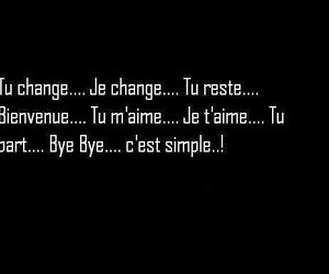 change, french, and quotes image