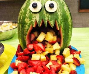 Halloween, food, and fruit image