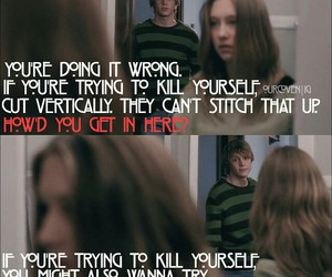 quotes, violet, and ahs image