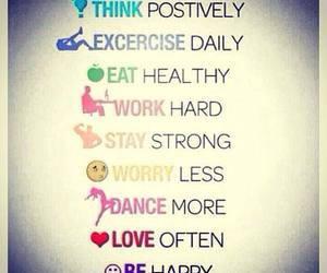 dance, happy, and exercise image