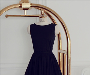 dress, black, and Valentino image