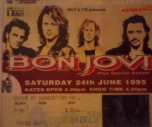 concert, rock, and bon jovi image