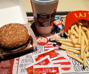 food, fast food, and French Fries image