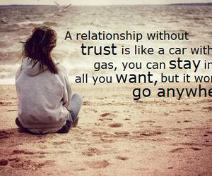 Relationship, trust, and quote image