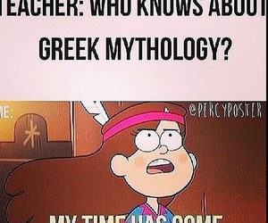 greek, mythology, and percy jackson image