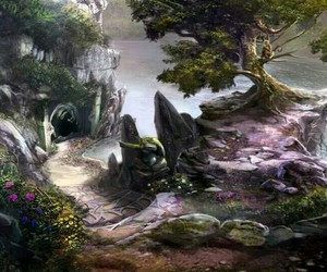 fantasy, land, and magic image