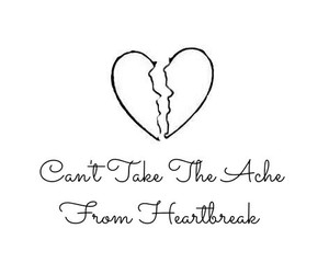 broken, heartbreak, and Lyrics image