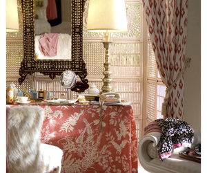 dressing room, girly, and home image