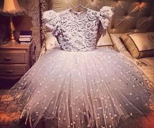 dress, luxury, and girly image