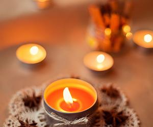 christmas, celebrating, and свечи image