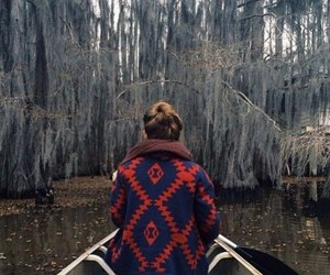 girl, nature, and cold image
