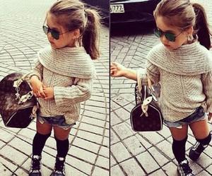 girl, little girl, and lovely image
