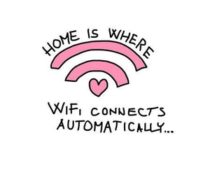 wifi, home, and true image