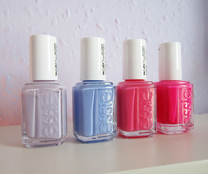 nails, essie, and cool image