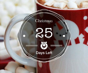 christmas, countdown, and holiday image