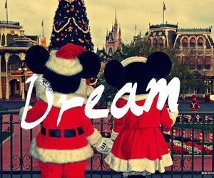christmas, disney, and Dream image