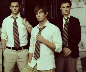 gossip girl, boy, and chuck bass image