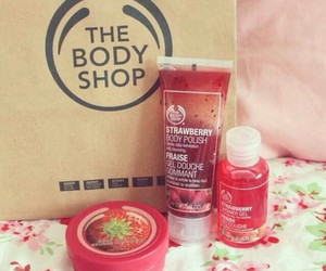 strawberry, the body shop, and body image