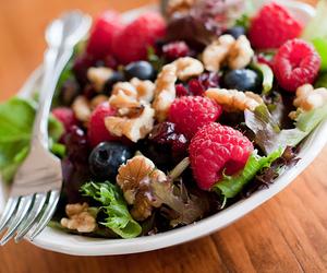 food, fruit, and salad image