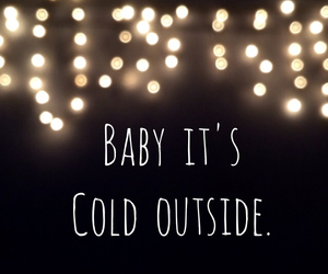 baby, lights, and outside image