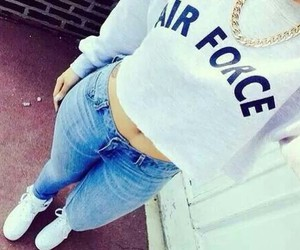fashion, outfit, and air force image