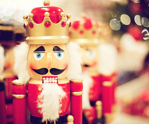 christmas, nutcracker, and toys image