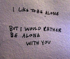 alone, quotes, and you image
