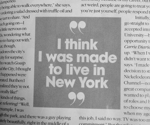 new york, quotes, and Dream image