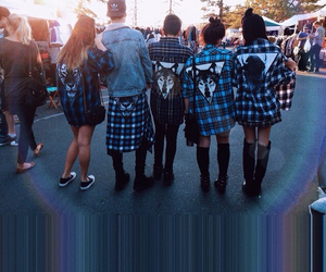 wolf and flannel image