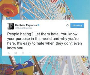 hate, twitter, and quotes image