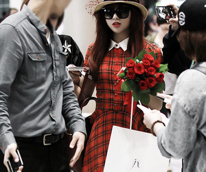 2ne1, airport, and fashion image