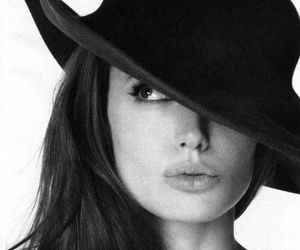 Angelina Jolie and hat image
