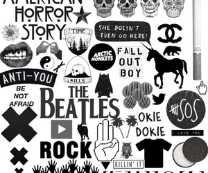 arctic monkeys, rock, and american horror story image